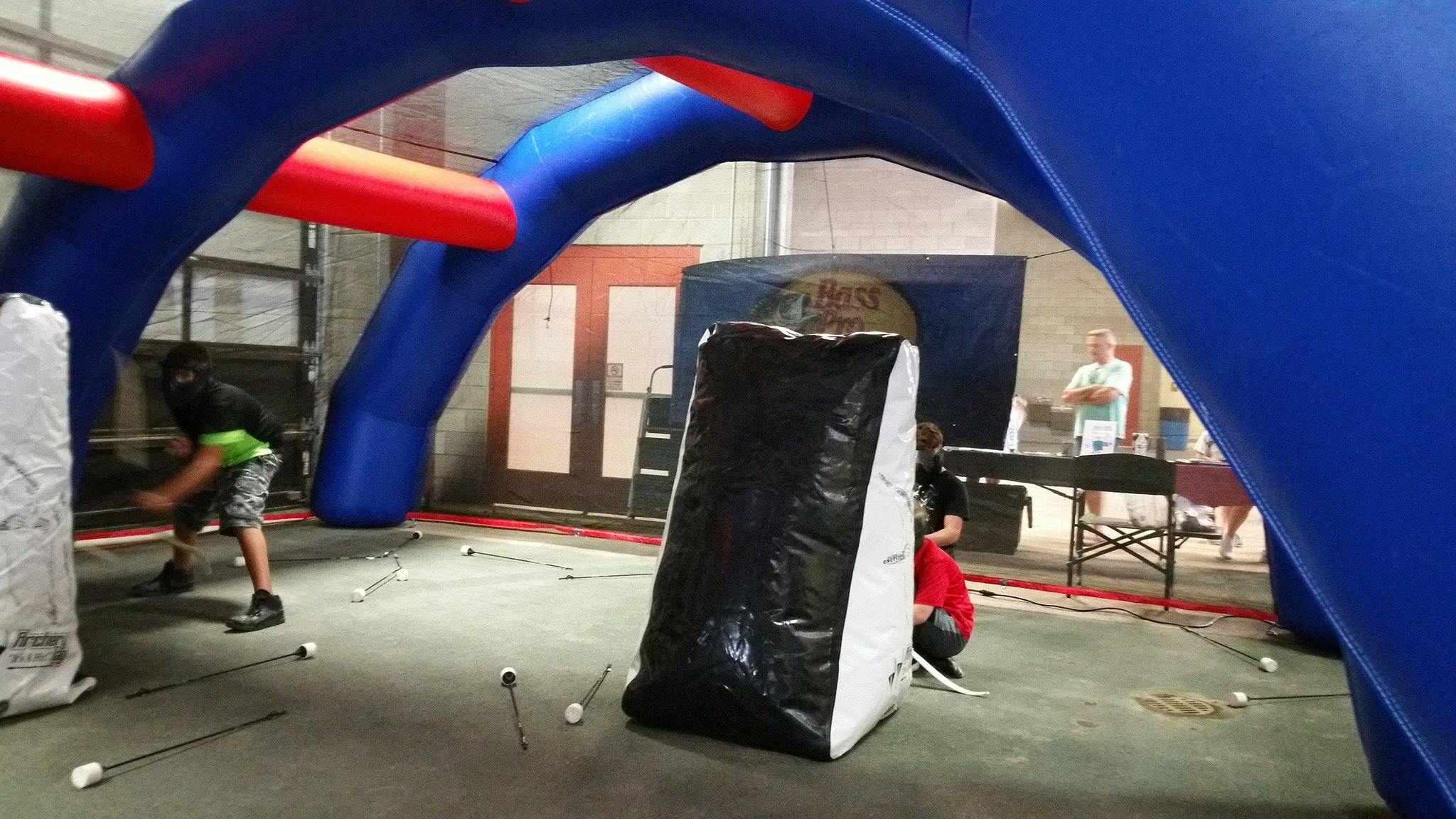 Paintball Archery Tag Inflatable Arena Made in USA