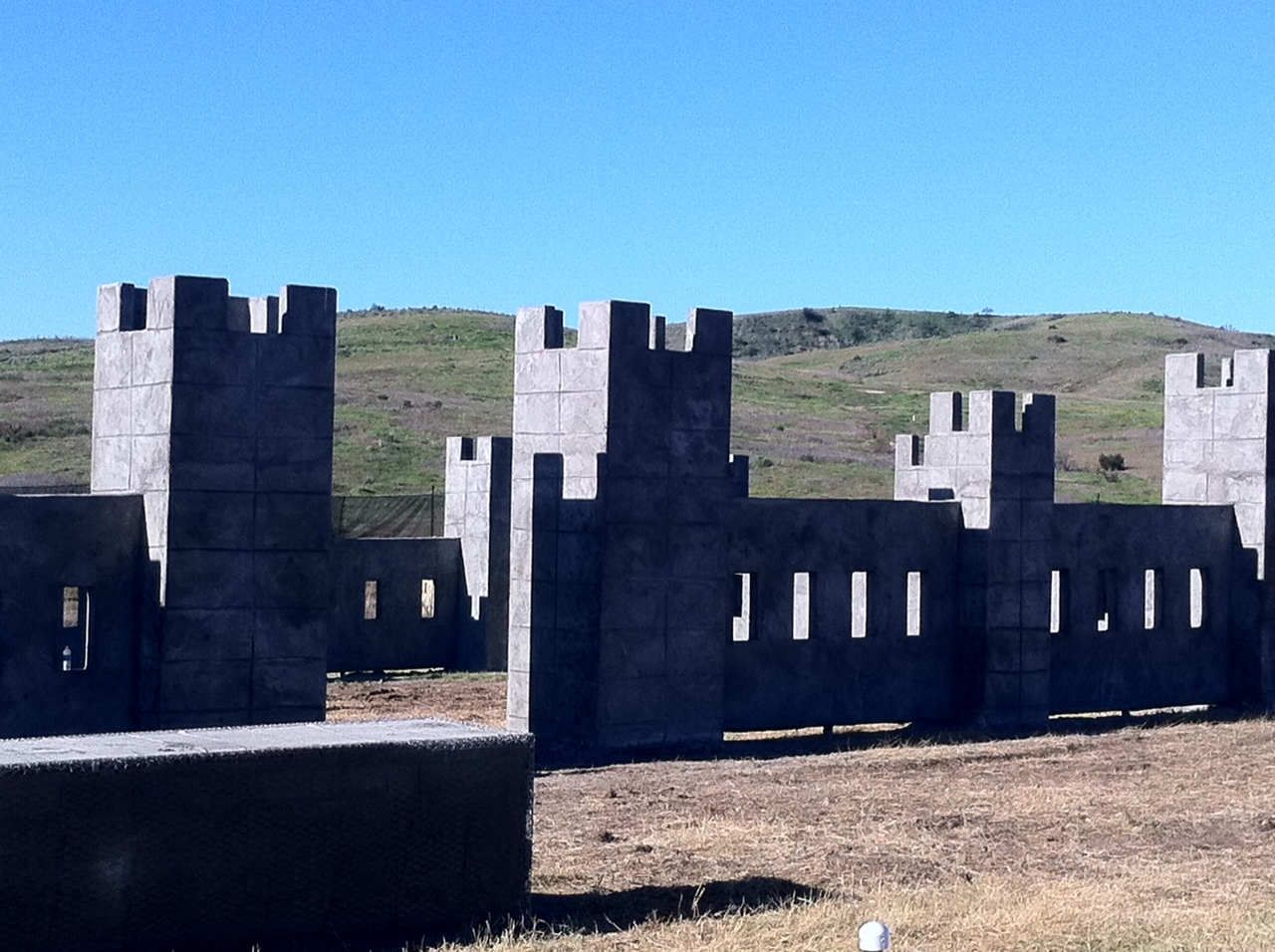 Bunker Block Castle 16' x 16' x 12' tall