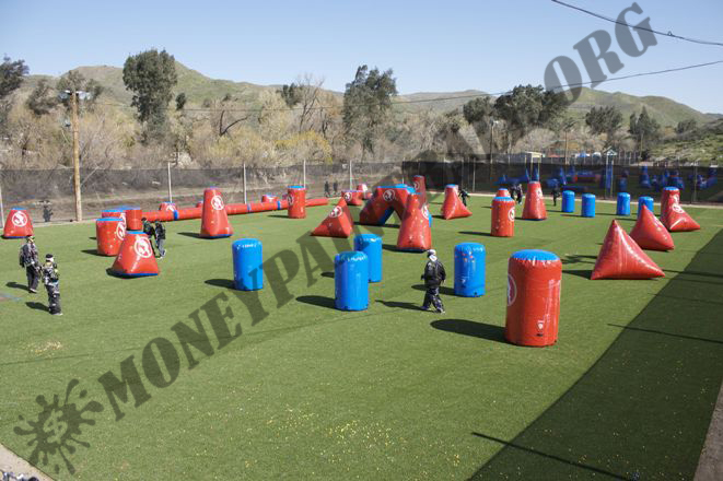#7 COMPLETE OFFICIAL PAINTBALL TOURNAMENT FIELD COMPLETE SET UP