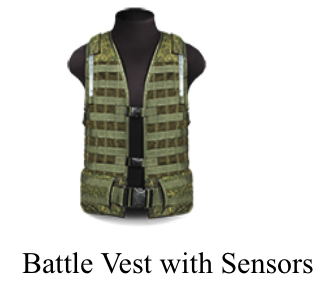 Laser Tag LSD Battle Vest