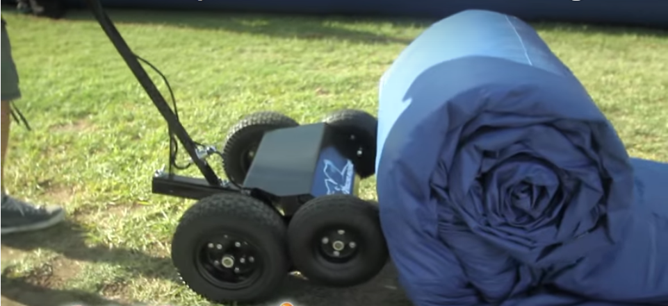 Inflatable Motorized Roller