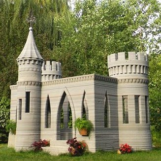 Custom Concrete Castle