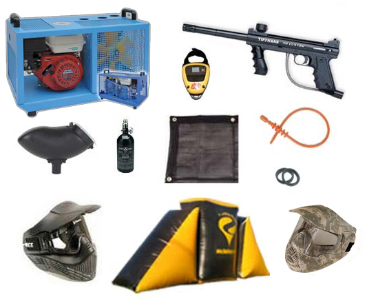 #3 PAINTBALL FIELD PACKAGE