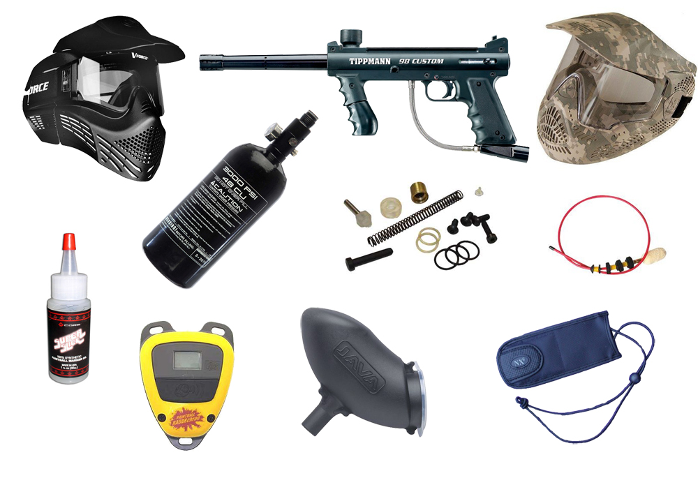 #1 PAINTBALL FIELD PACKAGE