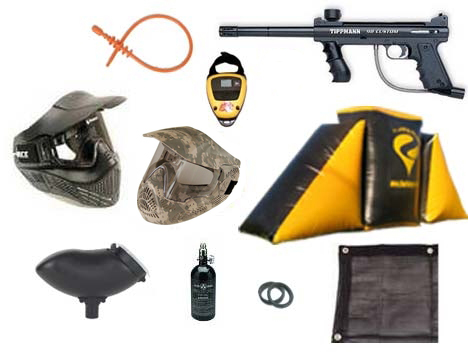 #2 PAINTBALL FIELD PACKAGE