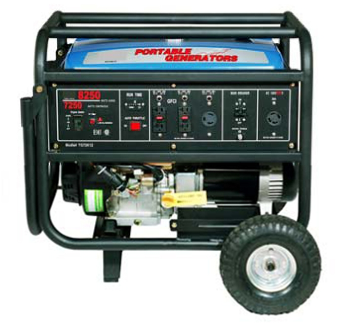 Generator for up to 5 Blowers
