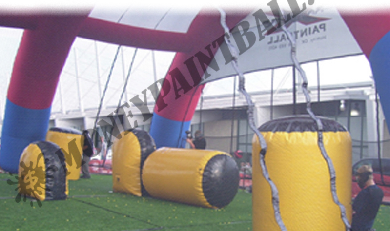 INFLATABLE PAINTBALL ARENA * MADE IN USA *