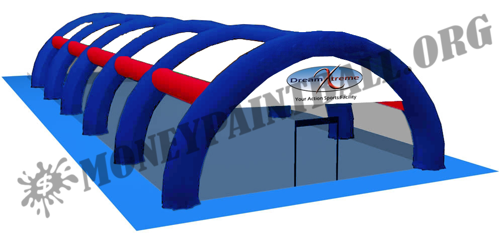 #9 INFLATABLE PAINTBALL FIELD SMALL 30' x 50'*MADE IN USA*