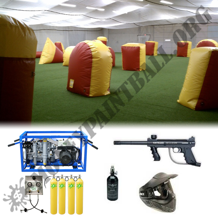 #9 INDOOR PAINTBALL TURN KEY FACILITY