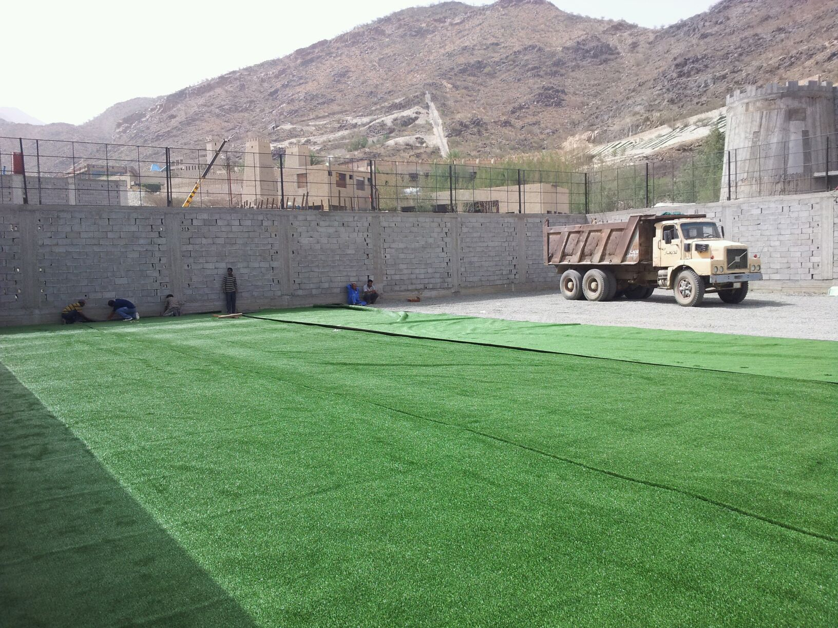 SAUDI ARABIA uses Money Turf for their countires first speedball