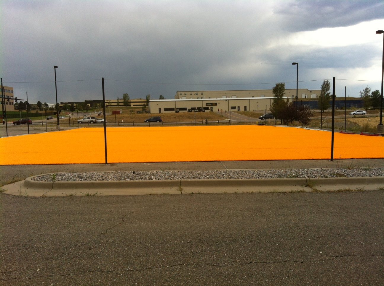 Total Adrenaline Paintball in Denver CO uses Money Turf